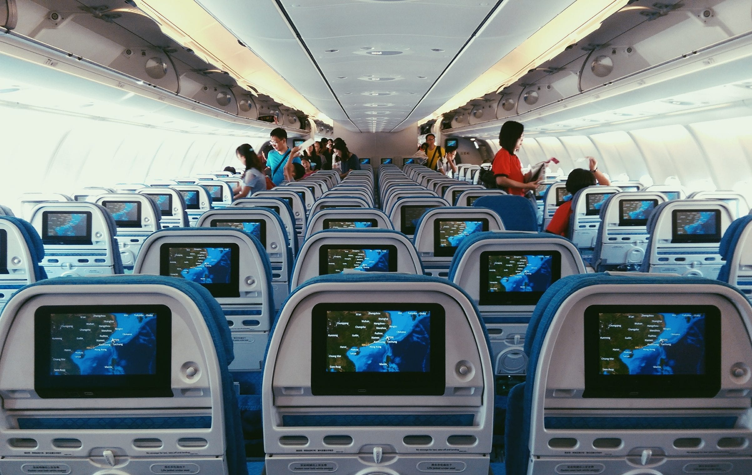 dragonair flight cabin