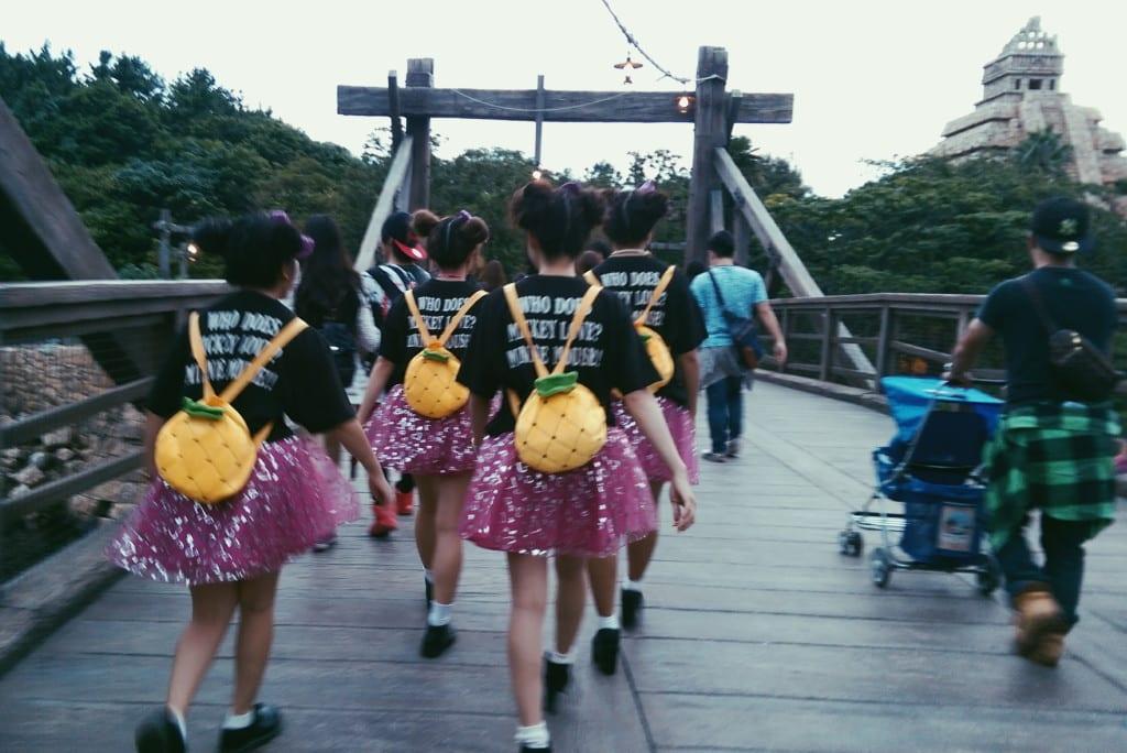 tokyo disneysea costumes