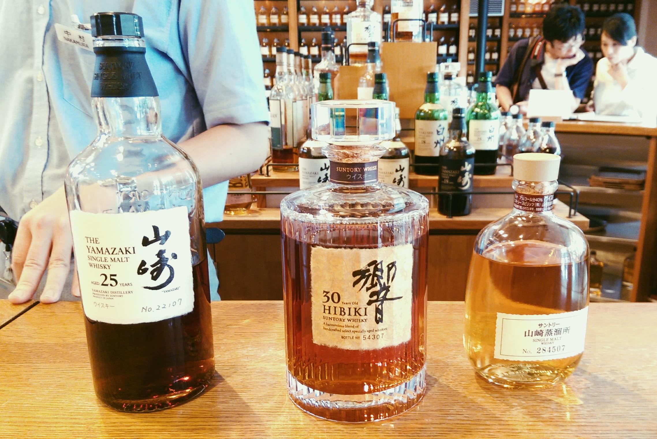yamazaki whisky distillery tour
