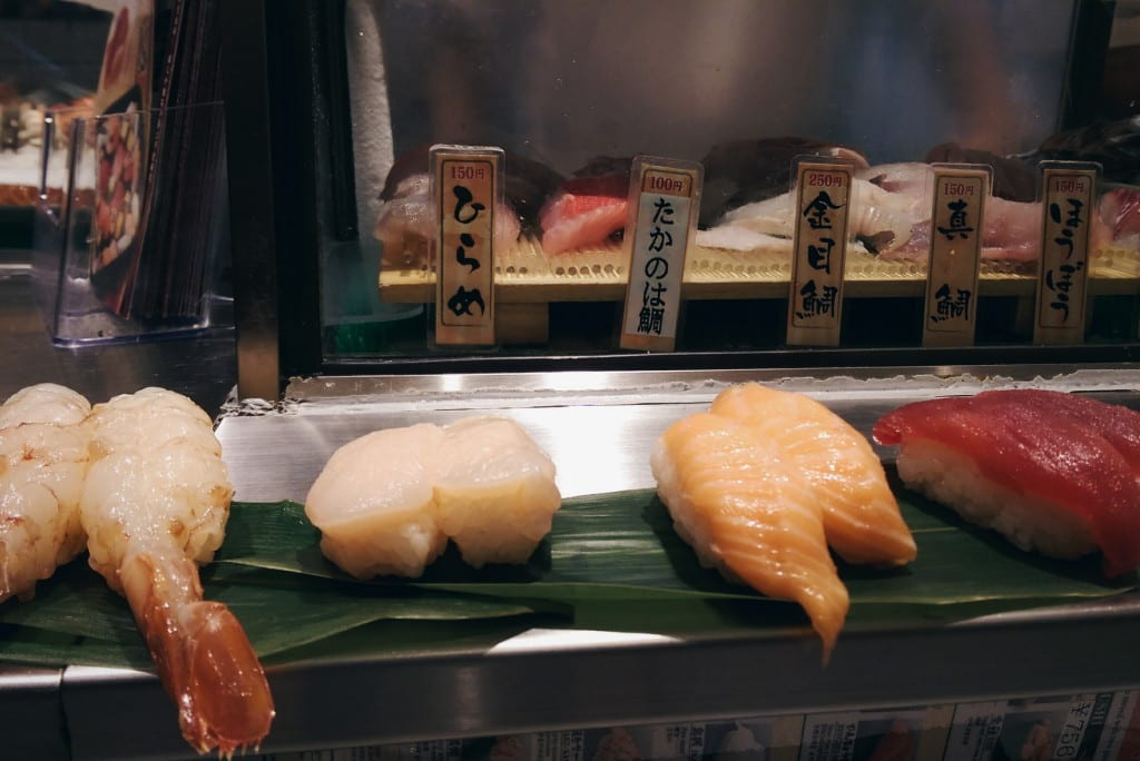 standing sushi tokyo