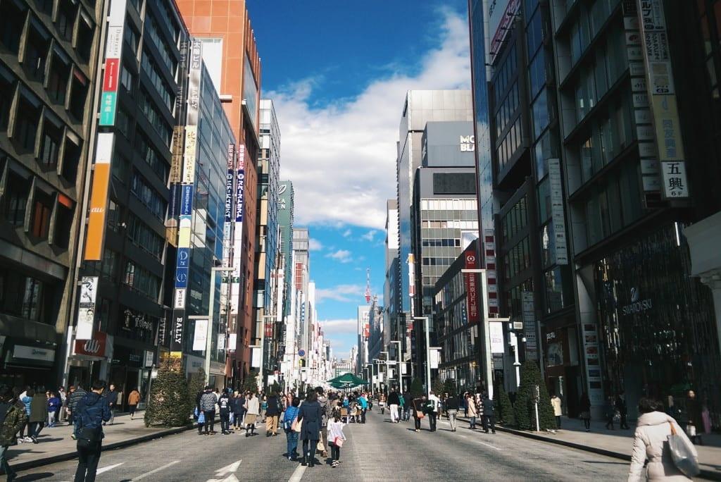 ginza street tokyo