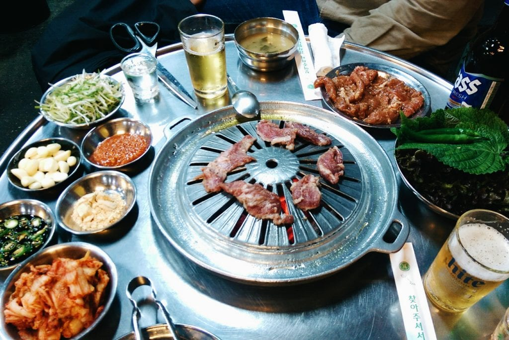 seoul korean bbq restaurant