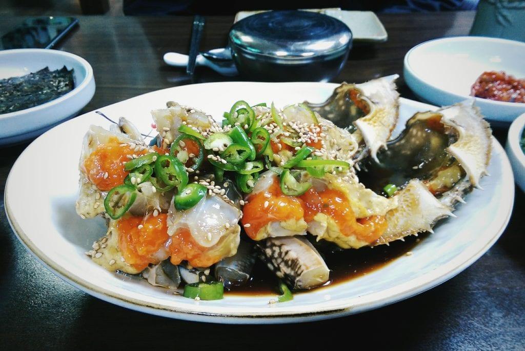 seoul raw crab restaurant