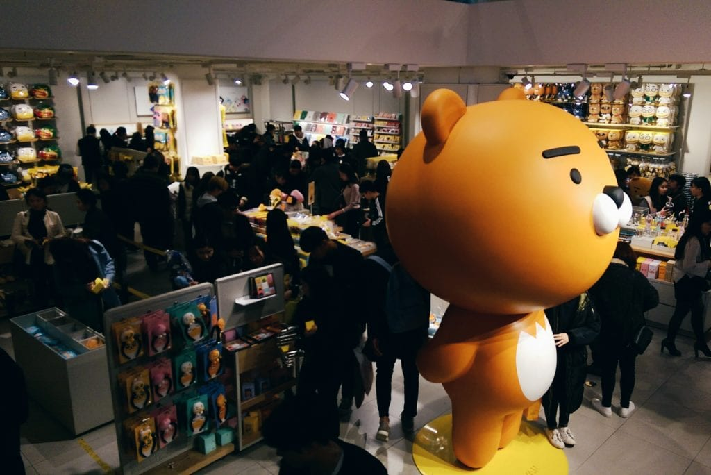 seoul kakao friends shop