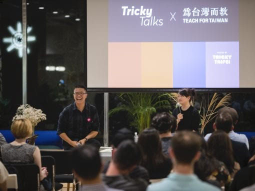 tricky talks teach for taiwan